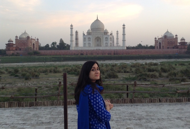 Taj Mahal from Mehtab Bagh Garden