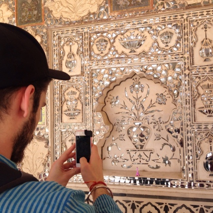 Amber Fort's MIrror Room