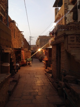 Streets of the Golden Fort