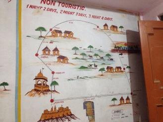 non-touristic map of the region